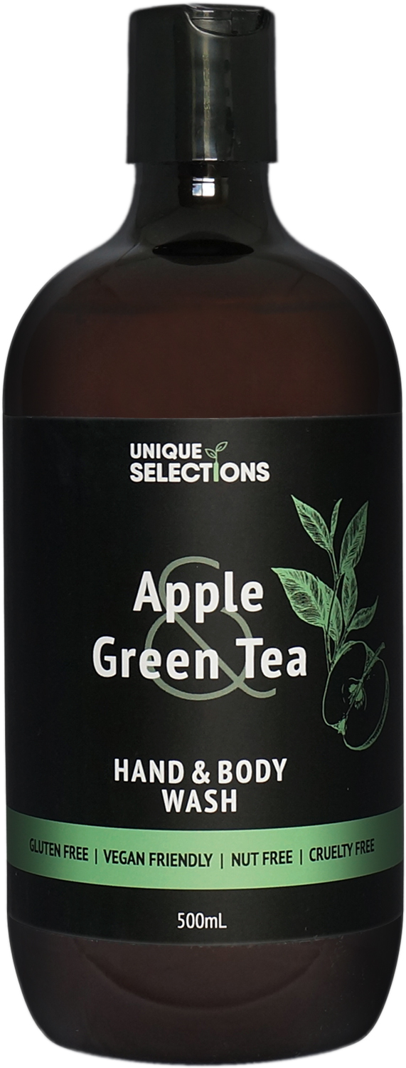 Apple Green Tea Hand & Body Wash 500ml