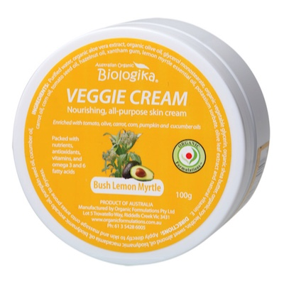 Bush Lemon Myrtle Veggie Cream 100g