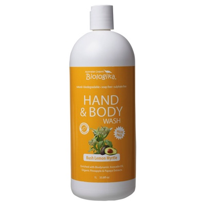 Bush Lemon Myrtle Hand & Body Wash (1 litre)