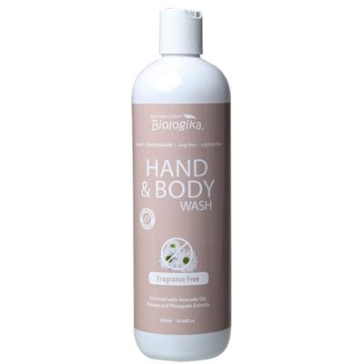Fragrance Free Hand & Body Wash (500ml)